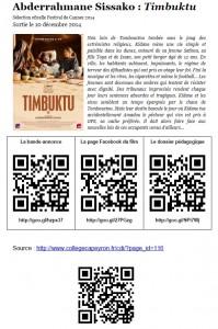 Timbuktu, un film de Abderrahmane Sissako.