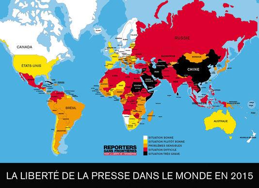 RSF-la-liberte-de-la-presse-dans-le-monde-en-2015