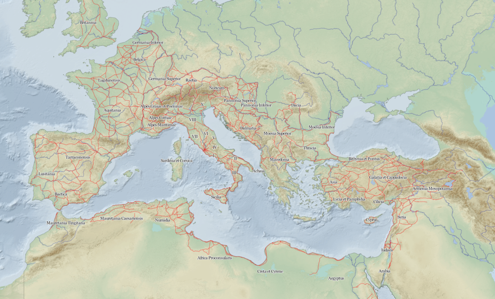 Le Google Maps de l'Empire romain