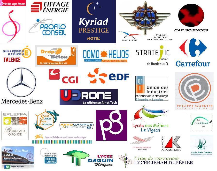 logos intervenants