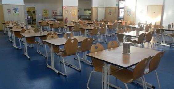 Le réfectoire des élèves