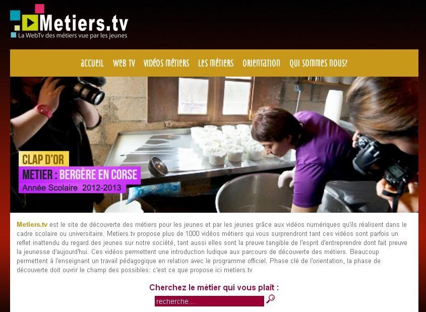 Métiers.tv