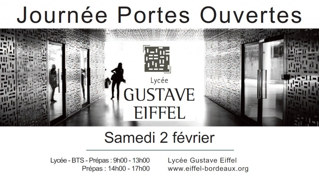 portes ouvertes lyc e gustave eiffel coll ge capeyroncoll ge capeyron. Black Bedroom Furniture Sets. Home Design Ideas