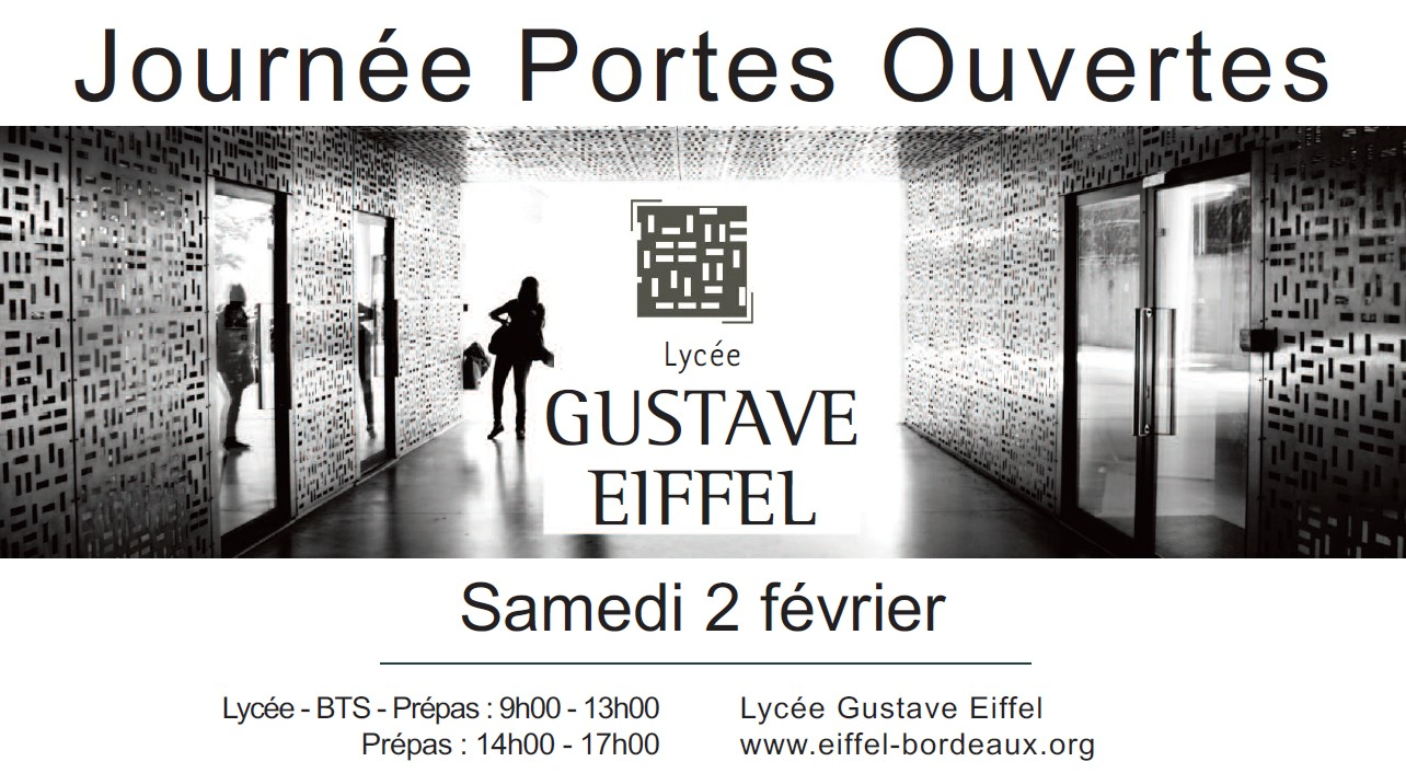 Portes ouvertes lyc e gustave eiffel coll ge capeyroncoll ge capeyron - Lycee guillaume tirel portes ouvertes ...