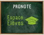 PRONOTE Espace Elèves
