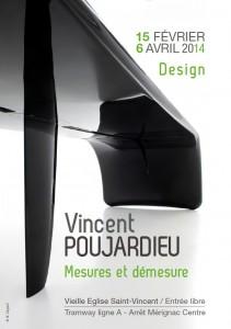"""Vincent Poujardieu, """"Mesures et démesure"""", Mérignac 2013."""