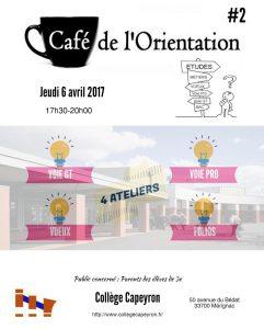 Café de l'Orientation 2017